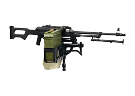 7.62mm PKMB Kalashnikov machine gun (APC version)